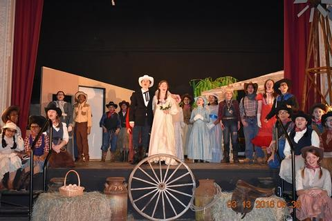 Oklahoma the Musical at Port Jervis Middle School image for DSC 0227