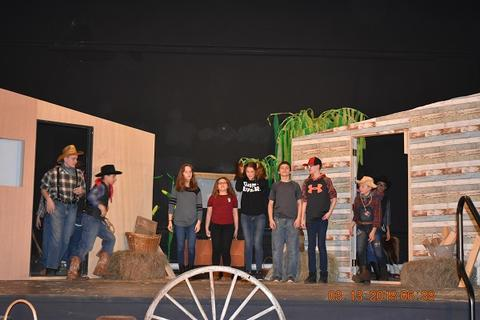 Oklahoma the Musical at Port Jervis Middle School image for DSC 0241
