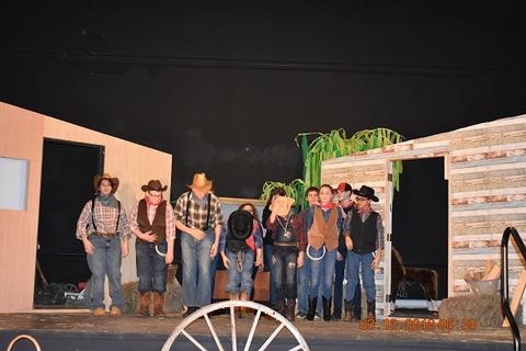 Oklahoma the Musical at Port Jervis Middle School image for DSC 0242
