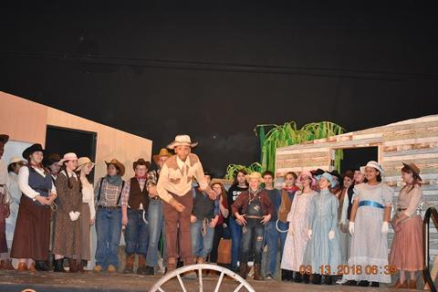 Oklahoma the Musical at Port Jervis Middle School image for DSC 0247