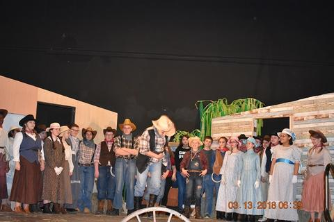 Oklahoma the Musical at Port Jervis Middle School image for DSC 0249