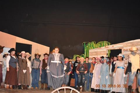 Oklahoma the Musical at Port Jervis Middle School image for DSC 0250
