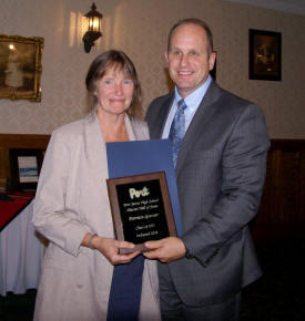 Hall of Fame inductee Patty Gessner
