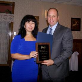 Hall of Fame inductee Cathy Pinkala Mitrano