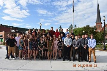 Port Jervis High School scholar athletes