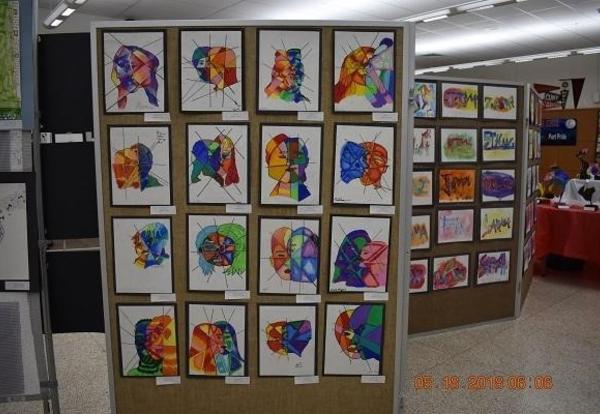 Art Department will present the K-12 Art Show Exhibition