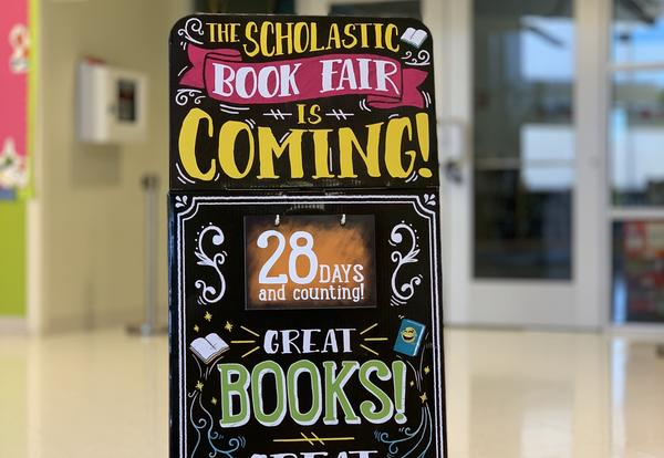 The Fall Scholastic Book Fair is here!