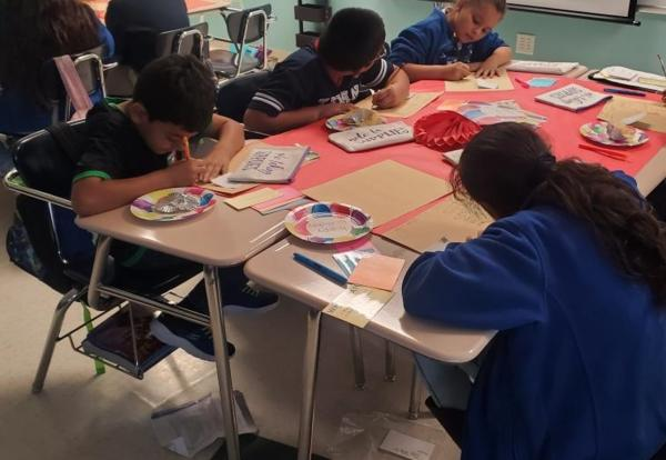 Writing Day in 3rd Grade