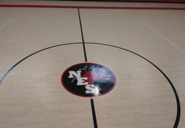 Elementary School New Gym Center Court