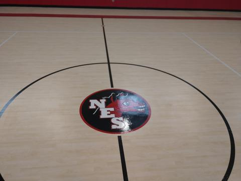 New gym center court