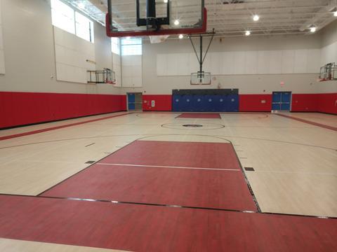 New school gym