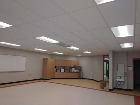 New Pre-K classroom