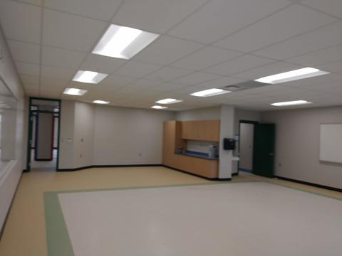 New wing classroom