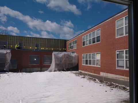 NHS Courtyard