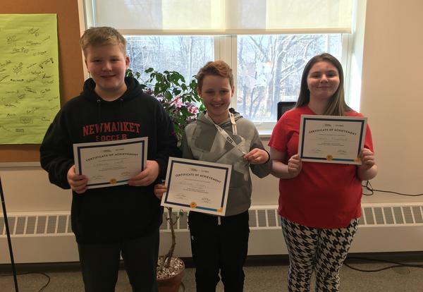Geography Bee Congratulations!