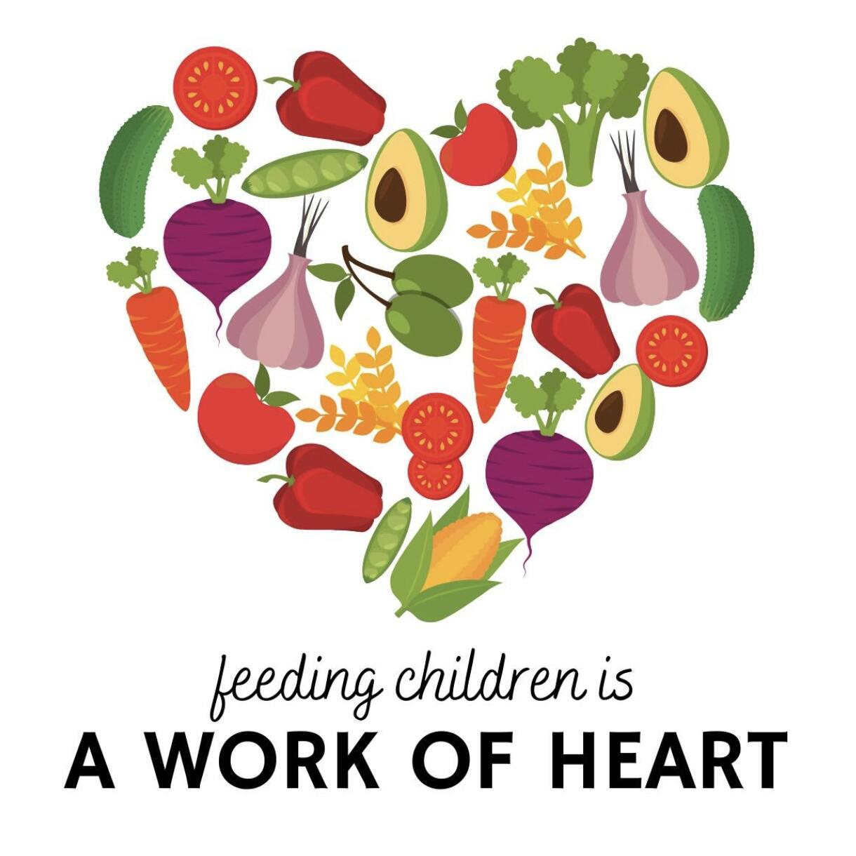 Feeding Children is a Work of Heart