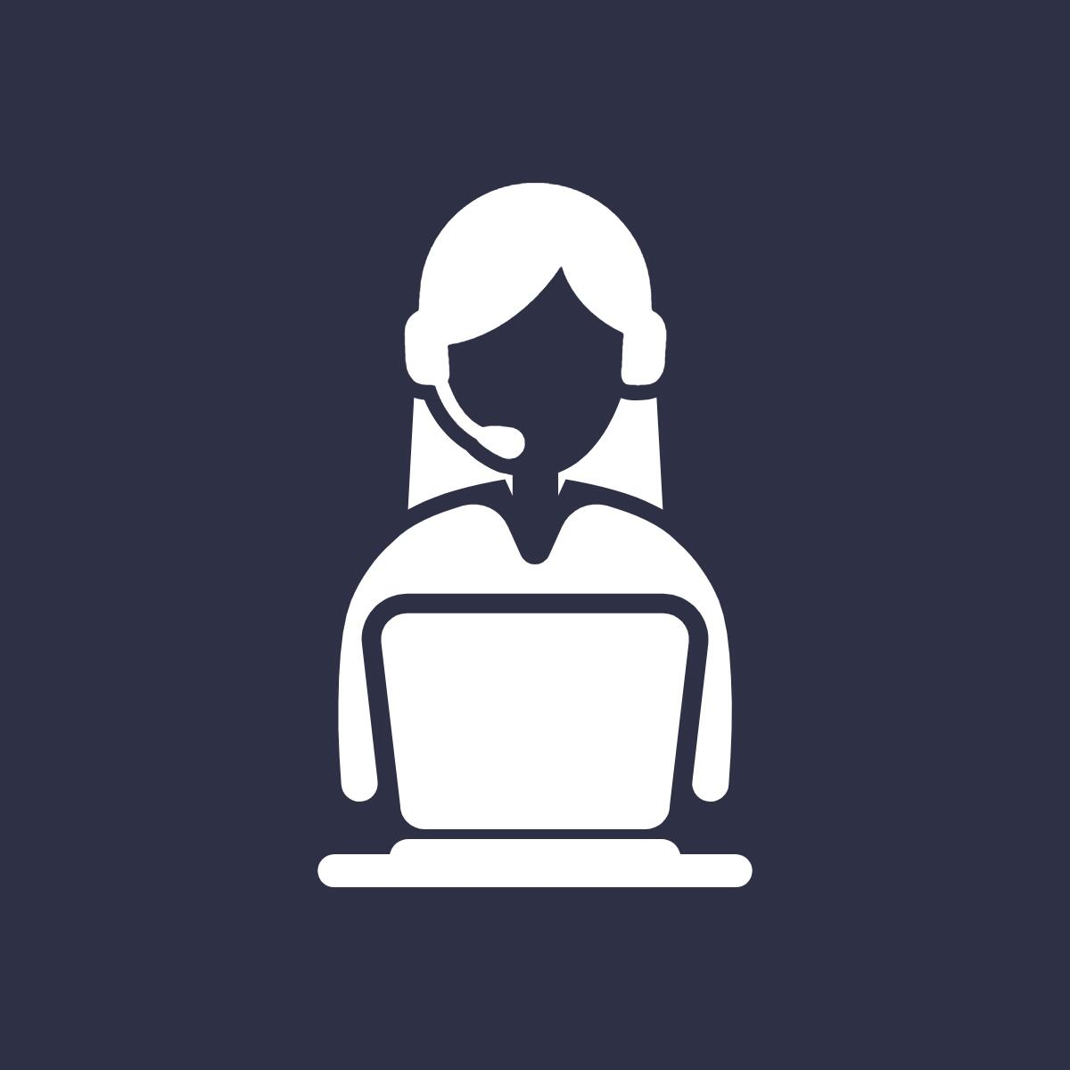 technology helpdesk icon