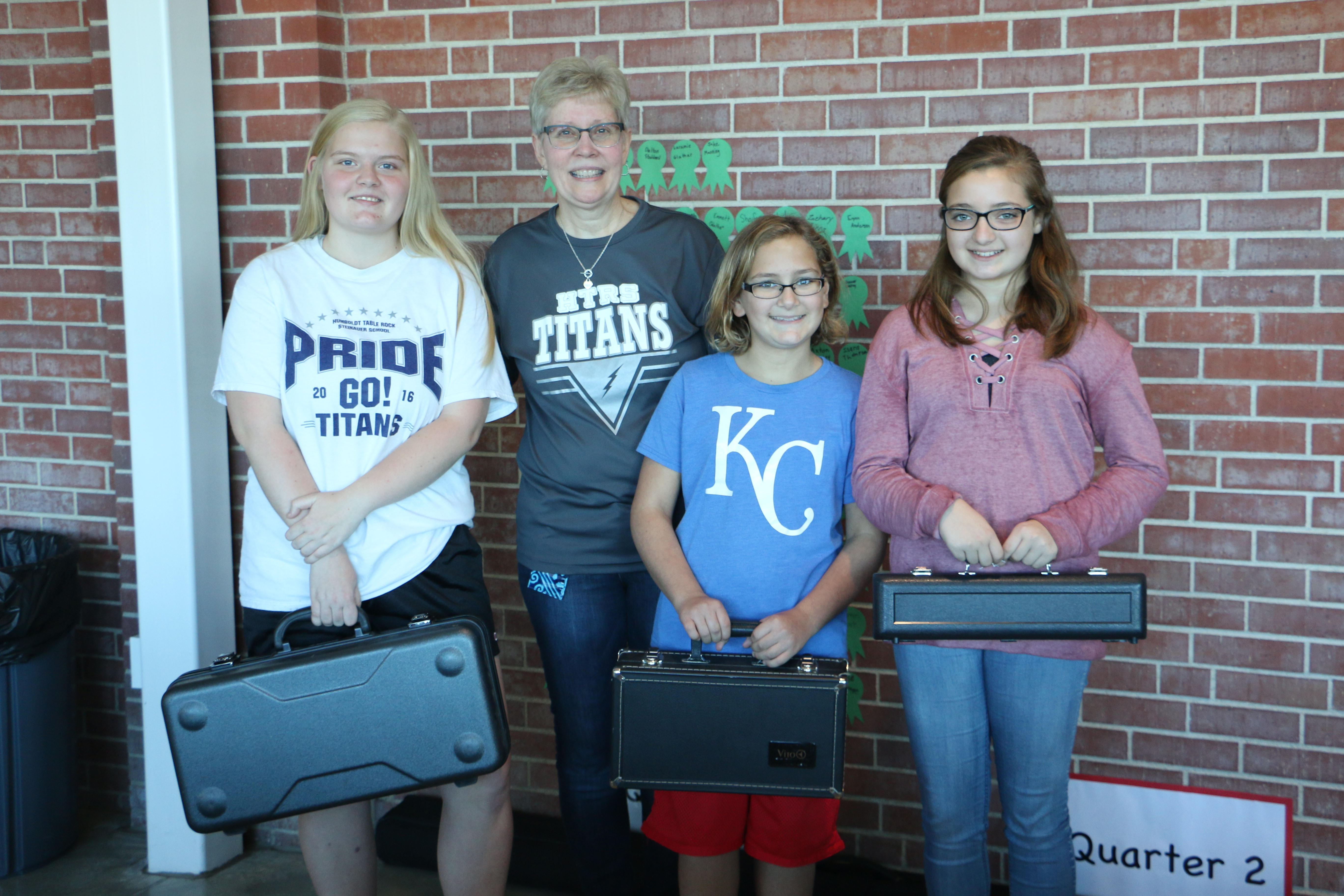 Elementary Students Receive Robert Shaw Award