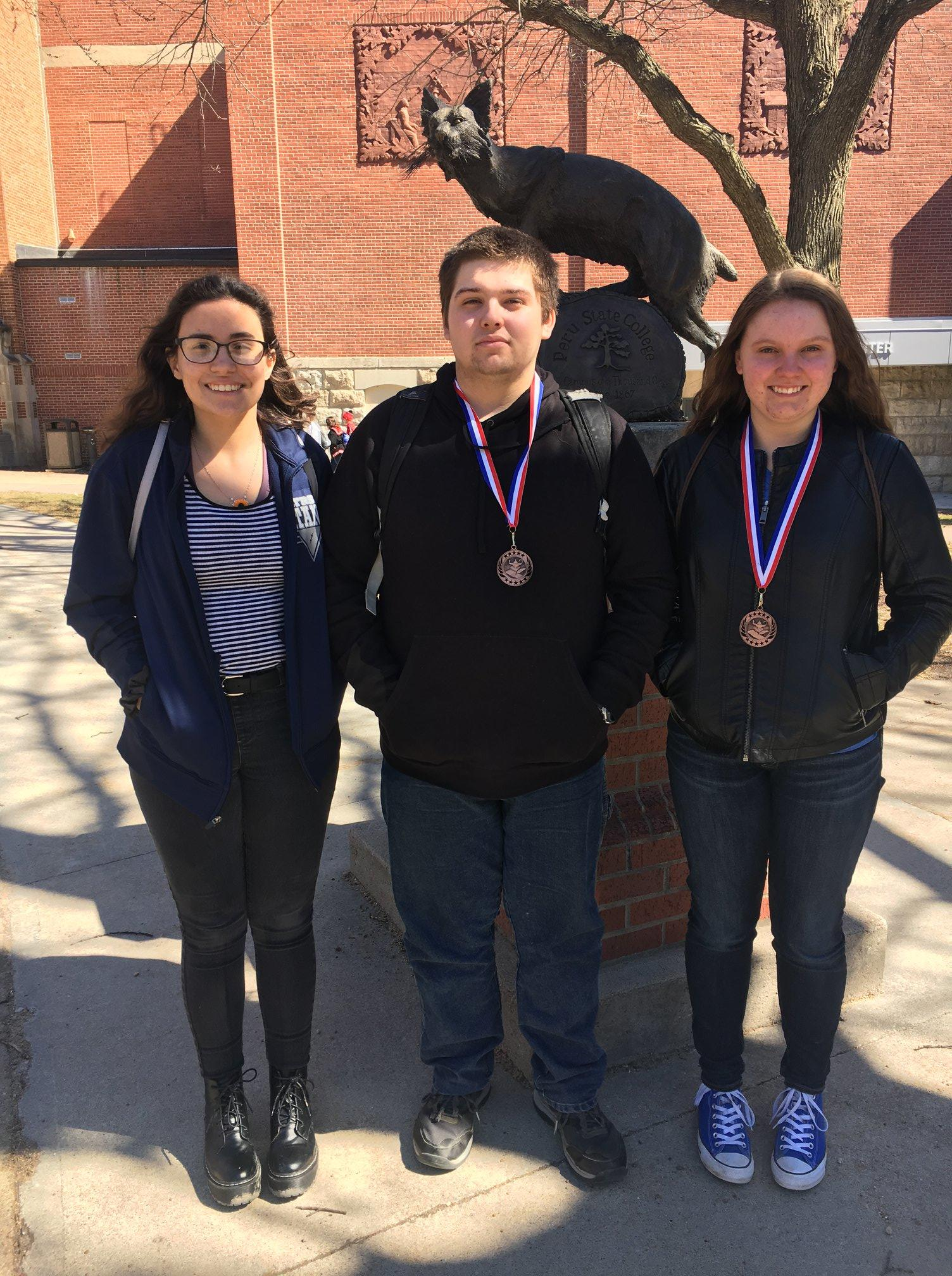Math Contest Awards: Calculus - Clarence - Anie - Katie