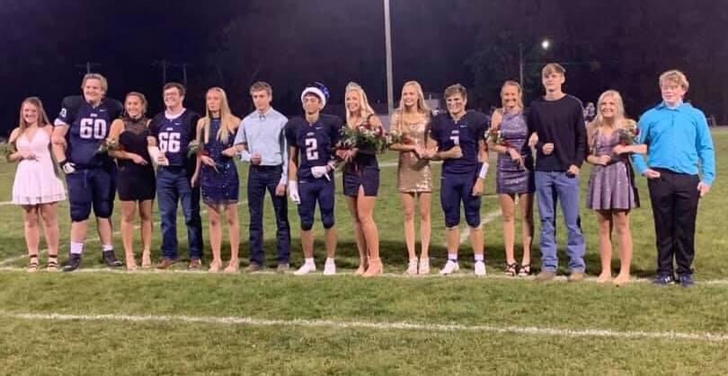 The Homecoming Royal Court