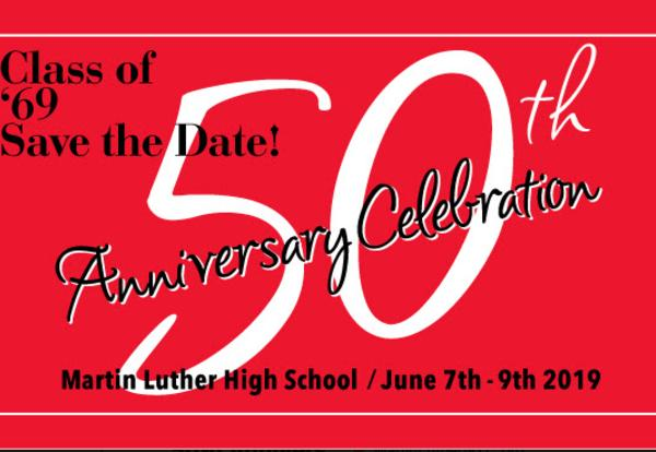 Class of '69 50th Anniversary Celebration  (June 7-9, 2019)