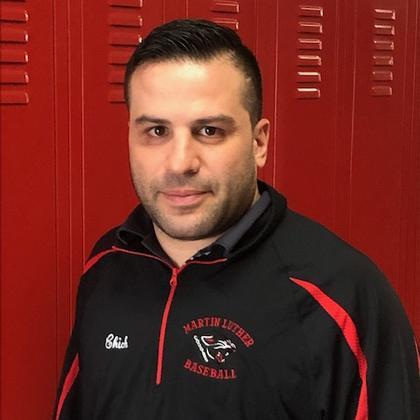Coach Charles Ciccione