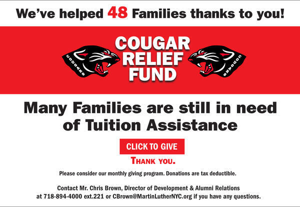 Help us help our MLS Families in need.