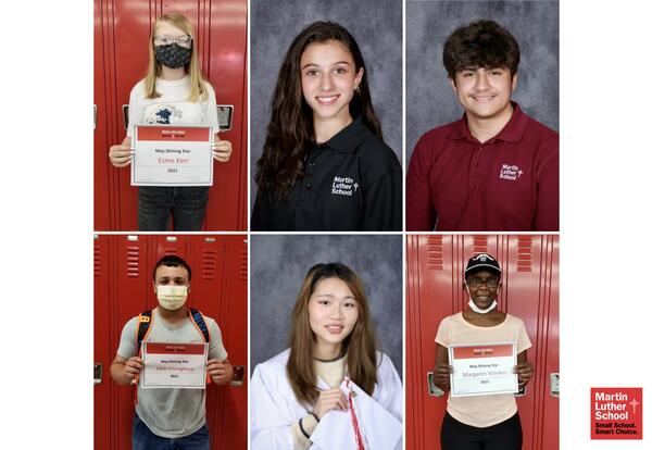 Congrats To Our May / June 2021 Shining Stars!