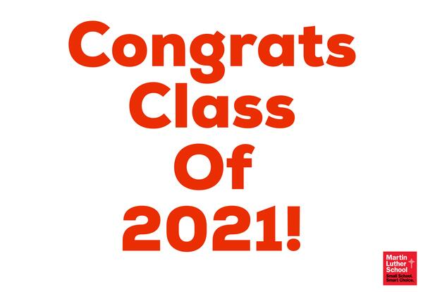 We present the Class of 2021!
