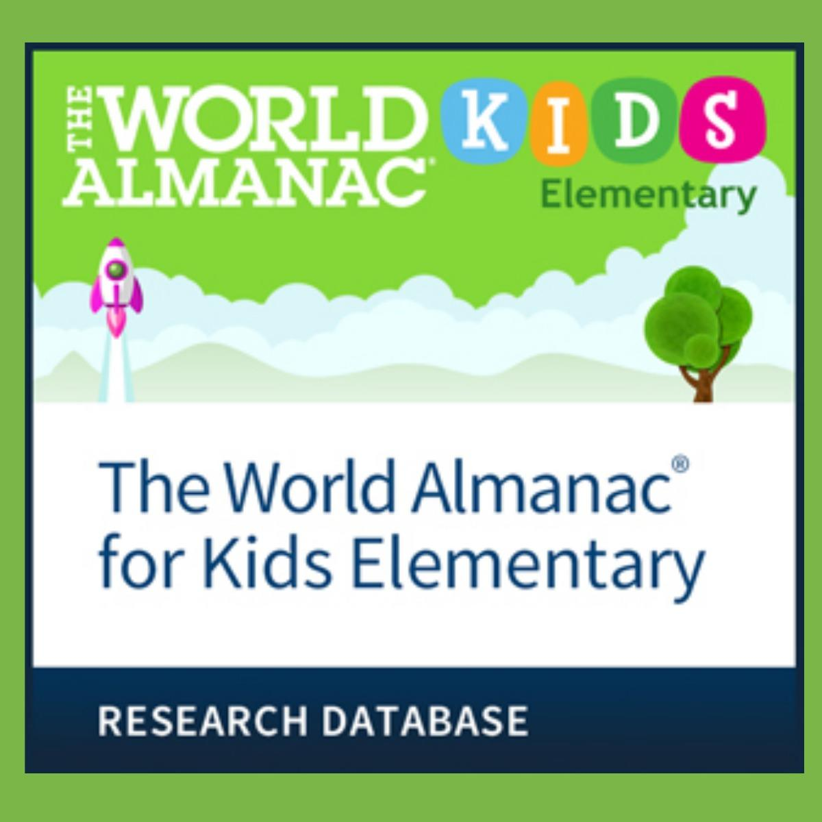 World Almanac Kids Elementary