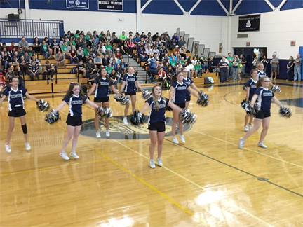 PRHS Cheerleaders