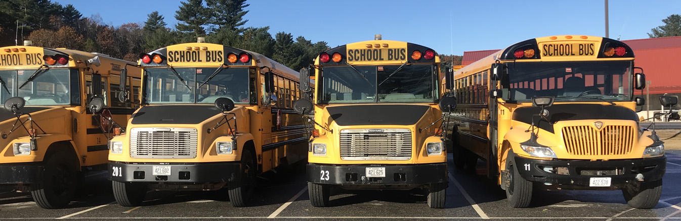 Photo of RSU 16's School Buses