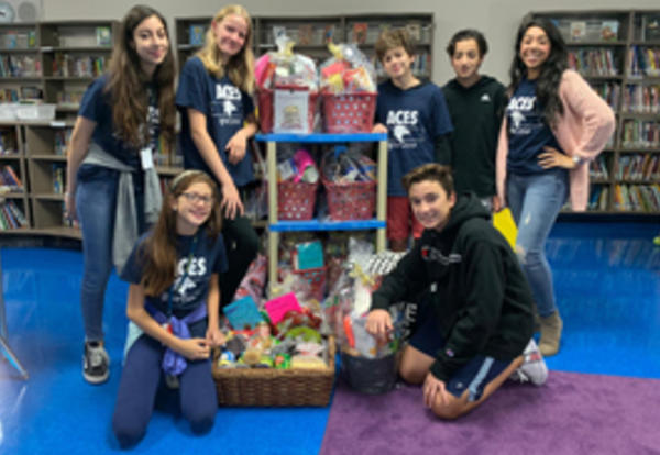 ACES Thanksgiving Food Drive and Peace Day Boxes