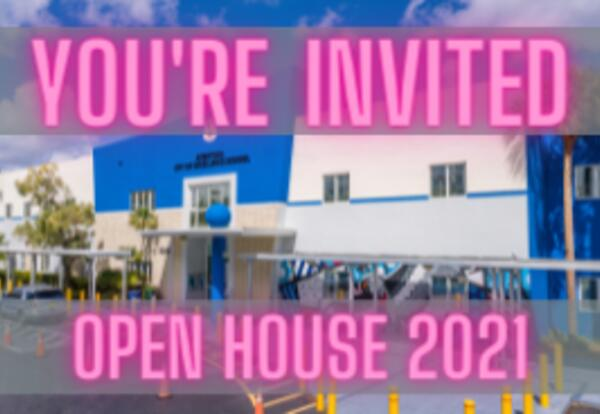 You're Invited! Open House 2021