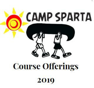 Camp Sparta Course Offerings 2019