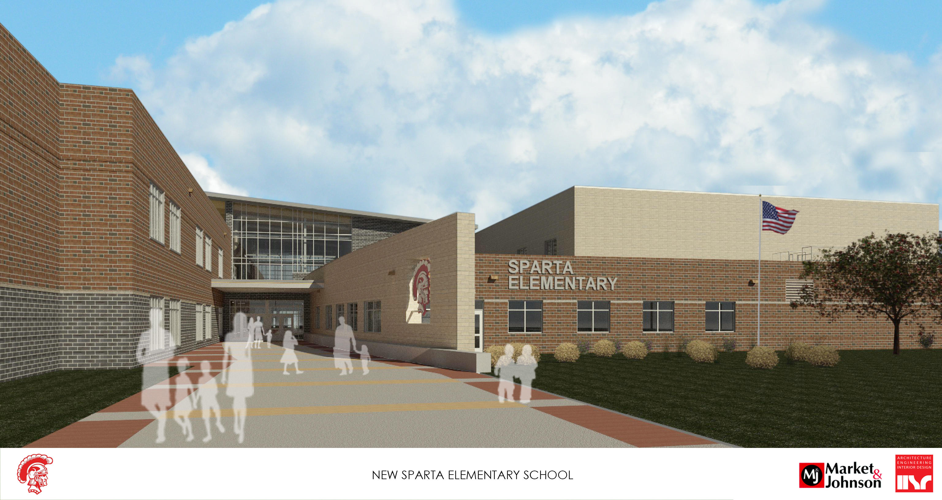 Rendering of Final Exterior Entry
