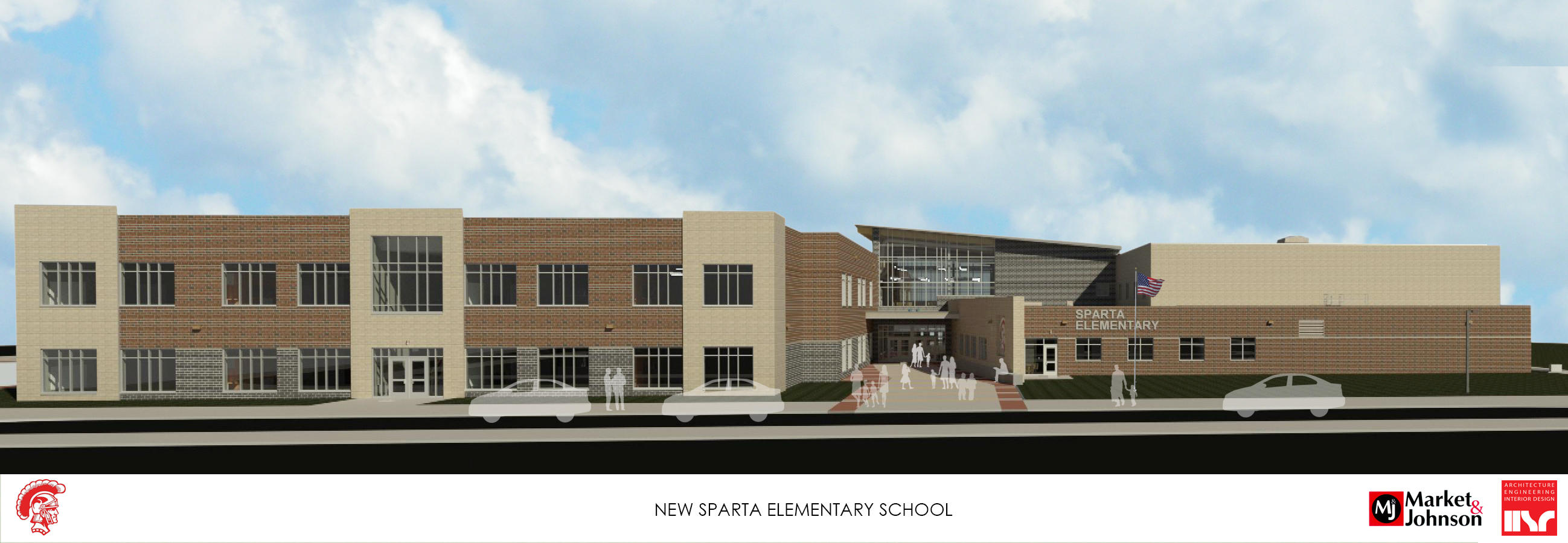 Rendering of Final Overall view