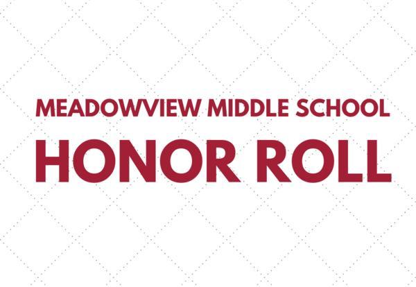 mvms honor roll