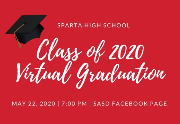 Sparta High School Virtual Graduation