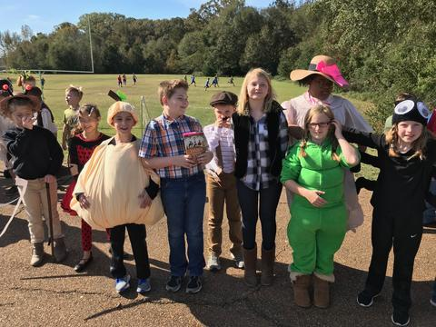 James and the Giant Peach presentation