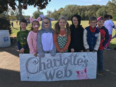 Charlotte's Web  in the book parade