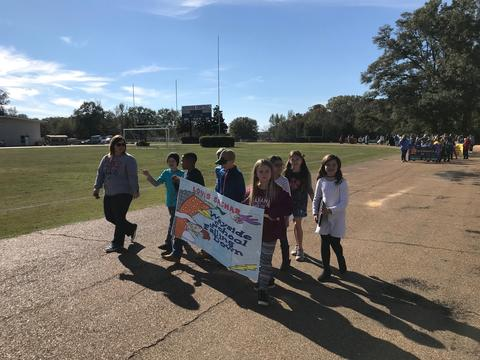Wayside School in the book parade