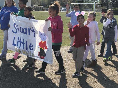 Stuart Little in the Book Parade