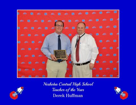 Derek Huffman - NCHS Teacher of Year