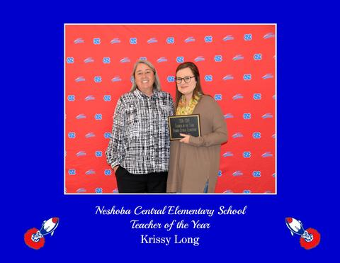 Krissy Long - NCES Teacher of the Year