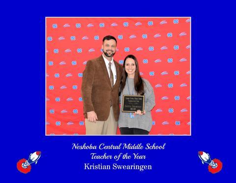 Kristian Swearingen - NCMS Teacher of the Year