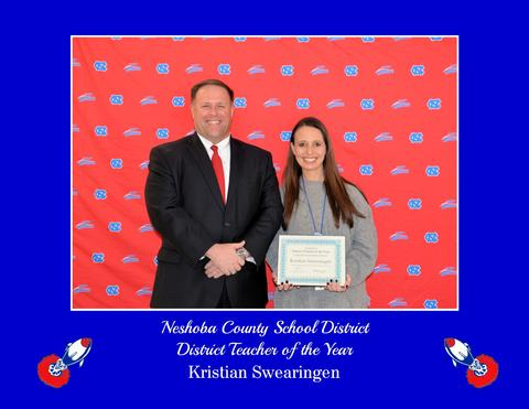 Kristian Swearingen - NCSD District Teacher of the Year