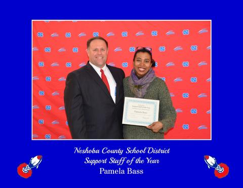 Pam Bass - Support Staff of the Year