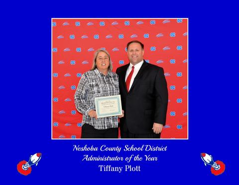 Tiffany Plott - Administrator of the Year