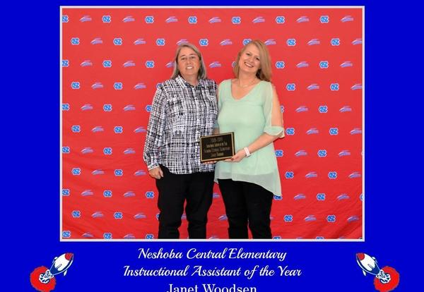 2018-2019 Instructional Assistant of the Year
